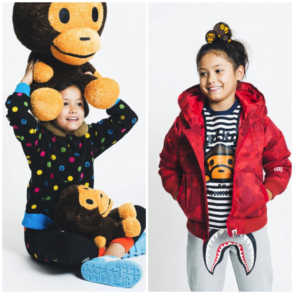 Fashion News: BAPE Kids Fall/Winter 2014 | ABathingX