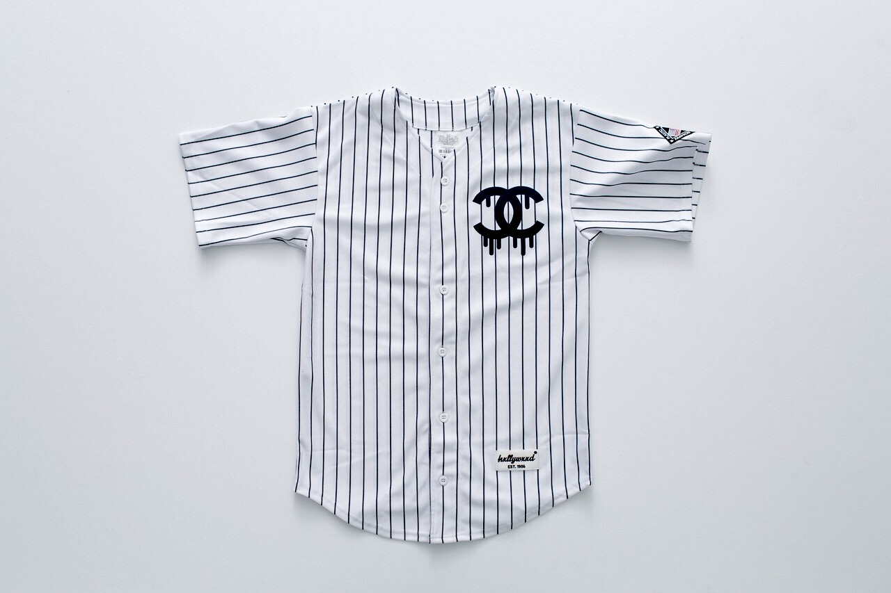 "de87addfd69 Fashion  Plastic Hxllywxxd SS15 ""Fashion Allstar"" Baseball Jersey ..."