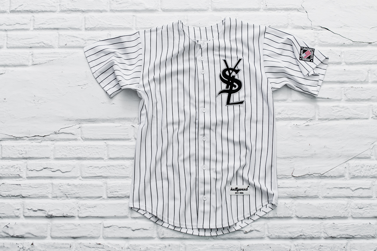 d6d63cd9867 New York based brand Plastic Hxllywxxd strikes again with another high  fashion brand jersey. Combining the Yves Saint Laurent brand with the  Chicago White ...